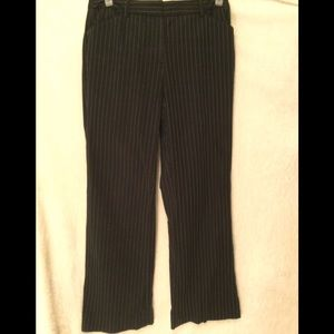 ⛱2/$66⛱RICKI'S BLACK RETRO PINSTRIPE TROUSER PANTS